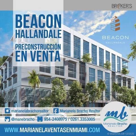 800 SE 4th Ave #615, Hallandale Beach, FL 33009 (MLS #A10965044) :: The Azar Team