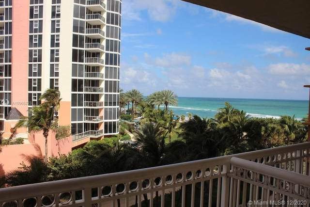 19201 Collins Av #821, Sunny Isles Beach, FL 33160 (MLS #A10965223) :: Julian Johnston Team