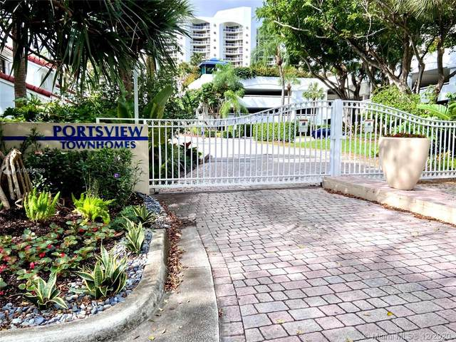 3630 Yacht Club Dr Townhome 602, Aventura, FL 33180 (MLS #A10965299) :: Julian Johnston Team