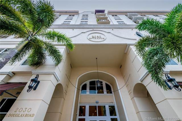 2030 S Douglas Rd #419, Coral Gables, FL 33134 (MLS #A10965432) :: Team Citron