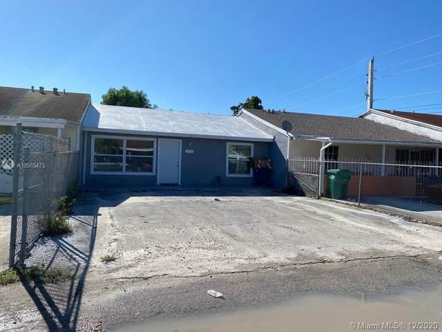 18908 NW 46th Ave, Miami Gardens, FL 33055 (MLS #A10965473) :: Team Citron