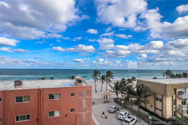 320 S Surf Rd #501, Hollywood, FL 33019 (MLS #A10965908) :: Green Realty Properties