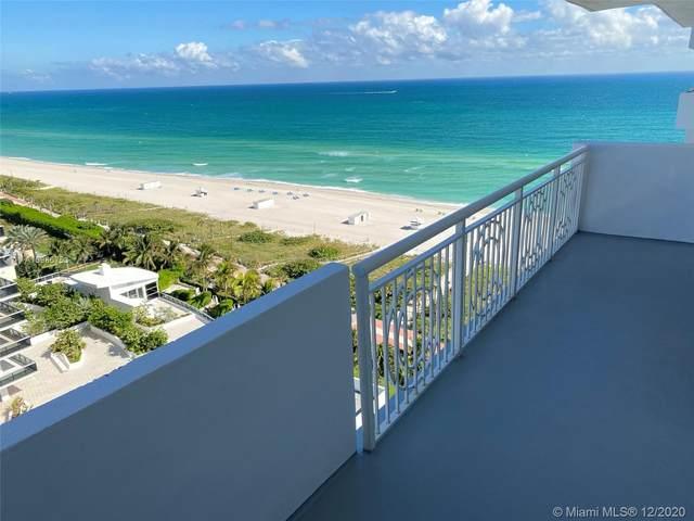 5825 Collins Ave Ph1e, Miami Beach, FL 33140 (MLS #A10966753) :: Patty Accorto Team
