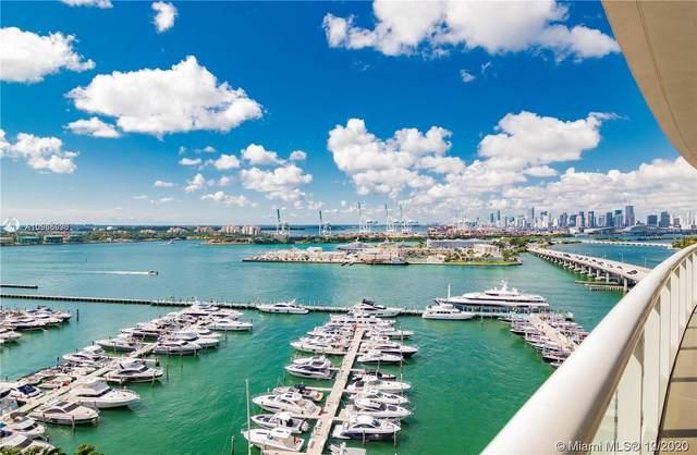 450 Alton Rd #1603, Miami Beach, FL 33139 (MLS #A10966993) :: Berkshire Hathaway HomeServices EWM Realty