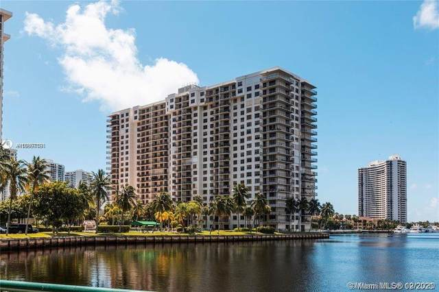 18151 NE 31st Ct #1804, Aventura, FL 33160 (MLS #A10967194) :: Patty Accorto Team
