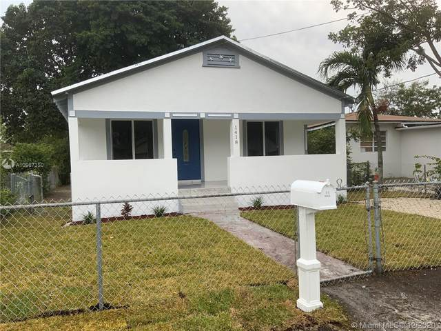 1418 NW 69th St, Miami, FL 33147 (MLS #A10967350) :: THE BANNON GROUP at RE/MAX CONSULTANTS REALTY I