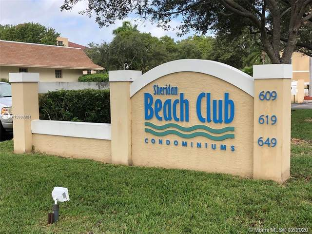 609 E Sheridan St #308, Dania Beach, FL 33004 (MLS #A10967881) :: Prestige Realty Group