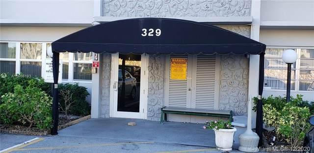 329 SE 3rd St 303P, Hallandale Beach, FL 33009 (MLS #A10968193) :: Patty Accorto Team