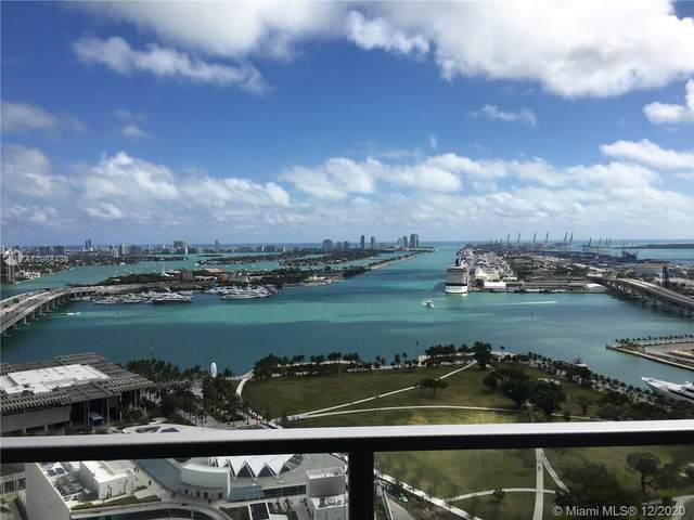 1100 Biscayne Blvd #3104, Miami, FL 33132 (MLS #A10968436) :: Albert Garcia Team
