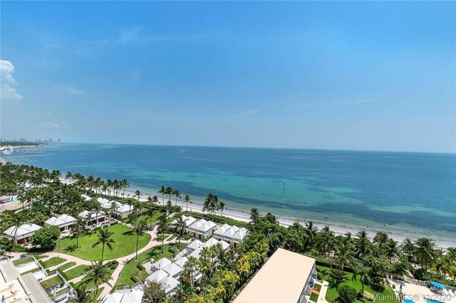 881 Ocean Dr 14G, Key Biscayne, FL 33149 (MLS #A10968630) :: Green Realty Properties