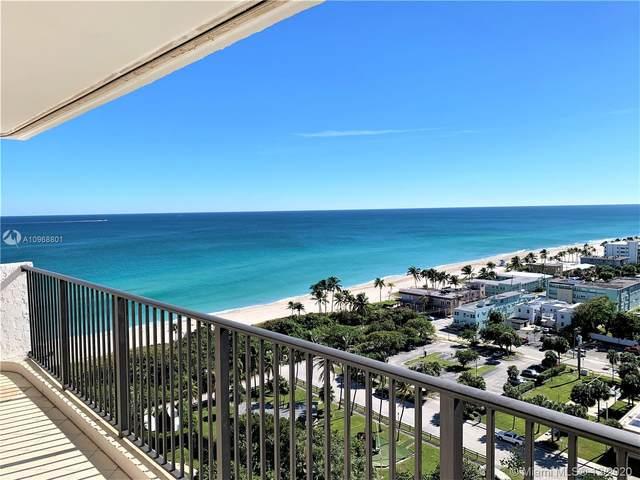 1201 S Ocean Dr 1808S, Hollywood, FL 33019 (MLS #A10968801) :: Albert Garcia Team