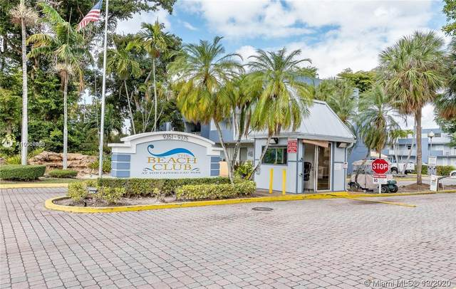 9351 Fontainebleau Blvd B232, Miami, FL 33172 (MLS #A10968909) :: Prestige Realty Group