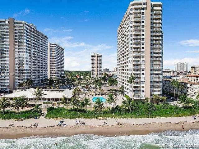 1980 S Ocean Dr 15Q, Hallandale Beach, FL 33009 (MLS #A10970224) :: Patty Accorto Team