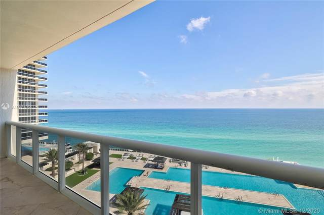 1850 S Ocean Dr #1402, Hallandale Beach, FL 33009 (MLS #A10971056) :: Albert Garcia Team