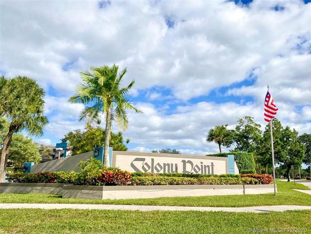 1101 Colony Point Cir #122, Pembroke Pines, FL 33026 (MLS #A10971257) :: Green Realty Properties
