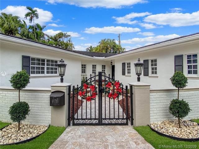 605 Blue Rd, Coral Gables, FL 33146 (MLS #A10972918) :: Miami Villa Group