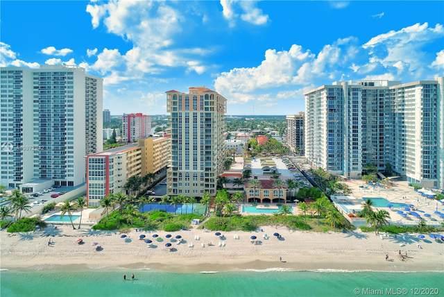 2080 S Ocean Dr #612, Hallandale Beach, FL 33009 (MLS #A10972942) :: Patty Accorto Team