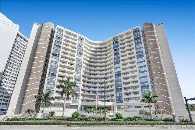 3180 S Ocean Dr #709, Hallandale Beach, FL 33009 (MLS #A10973175) :: Green Realty Properties