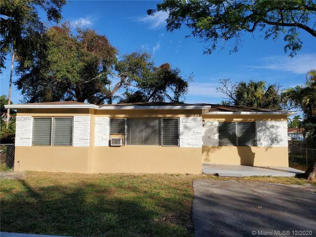 708 SW 6th St, Hallandale Beach, FL 33009 (MLS #A10973934) :: THE BANNON GROUP at RE/MAX CONSULTANTS REALTY I