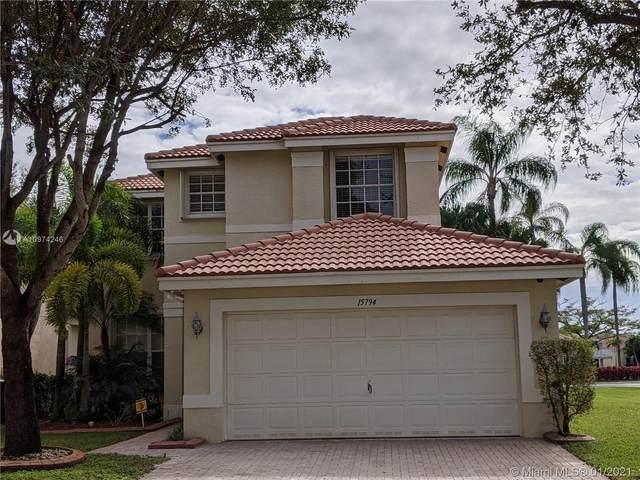 15794 SW 21st St, Miramar, FL 33027 (MLS #A10974246) :: Green Realty Properties