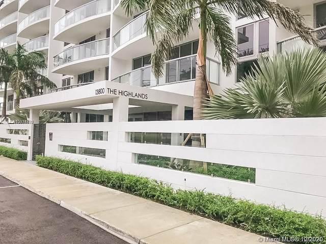 13800 Highland Dr #203, North Miami Beach, FL 33181 (MLS #A10974332) :: Patty Accorto Team