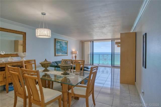 2101 S Ocean Dr #1402, Hollywood, FL 33019 (MLS #A10975008) :: Berkshire Hathaway HomeServices EWM Realty