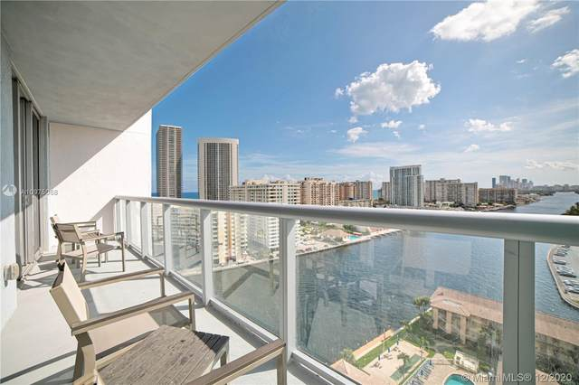 2602 E Hallandale Beach Blvd R1703, Hallandale Beach, FL 33009 (#A10975068) :: Posh Properties