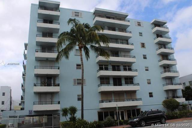 720 Collins Ave #206, Miami Beach, FL 33139 (MLS #A10975206) :: The Teri Arbogast Team at Keller Williams Partners SW