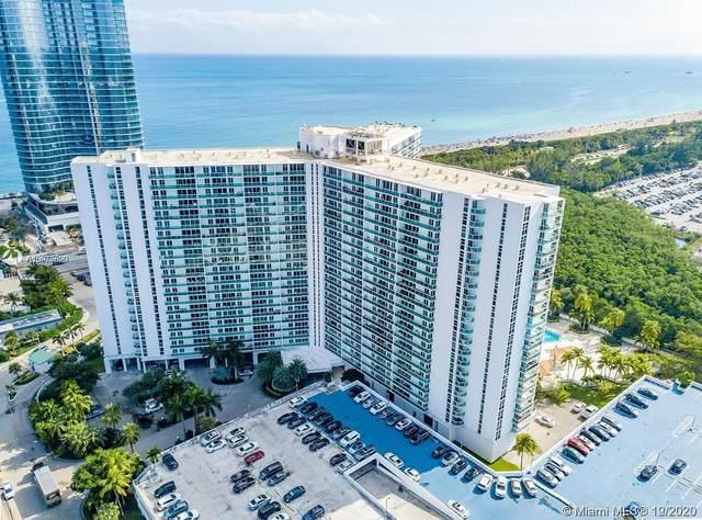 100 Bayview Dr #2104, Sunny Isles Beach, FL 33160 (MLS #A10975620) :: Patty Accorto Team
