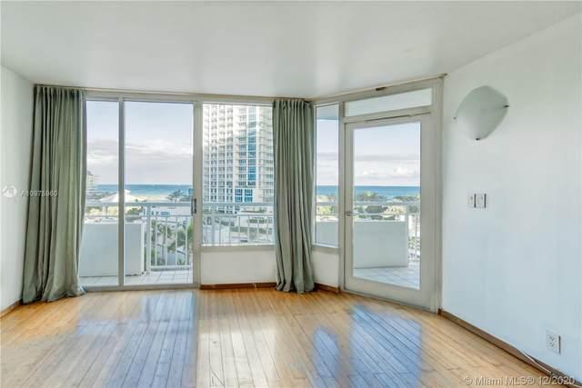 400 S Pointe Dr #808, Miami Beach, FL 33139 (MLS #A10975960) :: Albert Garcia Team