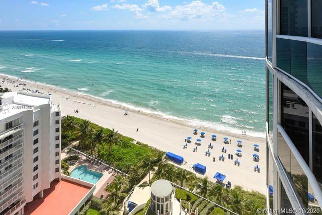 17201 Collins Ave #2102, Sunny Isles Beach, FL 33160 (MLS #A10976056) :: Albert Garcia Team