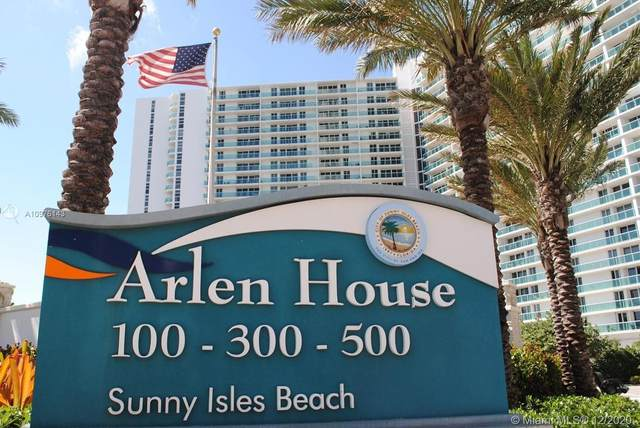 100 Bayview Dr #602, Sunny Isles Beach, FL 33160 (MLS #A10976143) :: Patty Accorto Team
