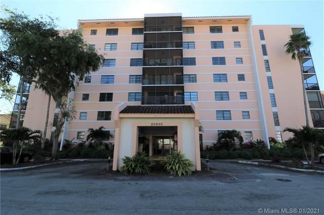 20840 San Simeon Way #606, Miami, FL 33179 (MLS #A10976165) :: Green Realty Properties
