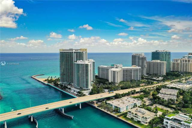 10275 Collins Ave #1412, Bal Harbour, FL 33154 (MLS #A10976546) :: Patty Accorto Team