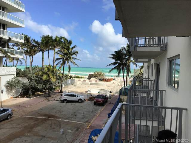 4141 Collins Ave #207, Miami Beach, FL 33140 (MLS #A10976694) :: Green Realty Properties
