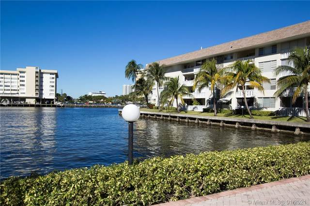 1889 S Ocean Dr #307, Hallandale Beach, FL 33009 (MLS #A10976829) :: Podium Realty Group Inc