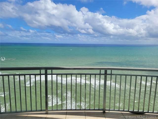 17375 Collins Ave #2501, Sunny Isles Beach, FL 33160 (MLS #A10977597) :: Berkshire Hathaway HomeServices EWM Realty