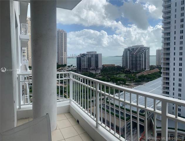 801 Brickell Key Blvd #1607, Miami, FL 33131 (MLS #A10977943) :: The Teri Arbogast Team at Keller Williams Partners SW
