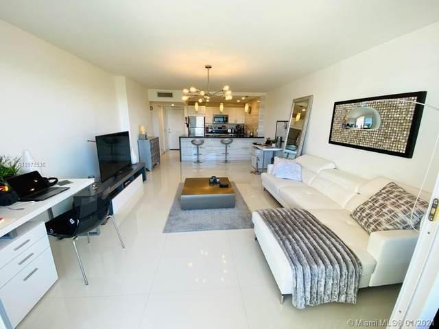 100 Bayview Dr #820, Sunny Isles Beach, FL 33160 (MLS #A10978536) :: Patty Accorto Team