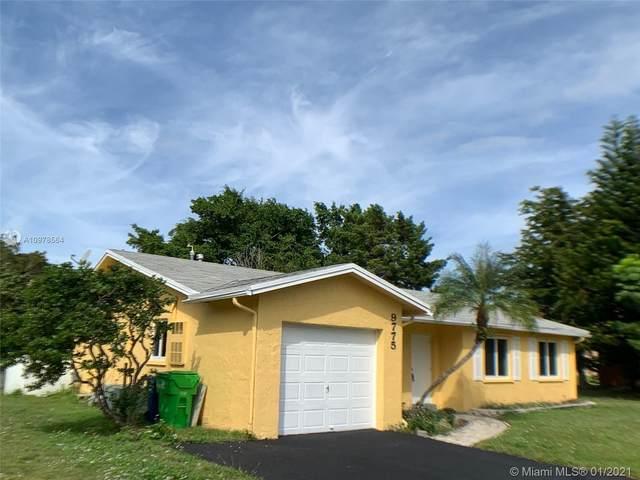 9775 NW 26th Ct, Sunrise, FL 33322 (MLS #A10978564) :: Berkshire Hathaway HomeServices EWM Realty