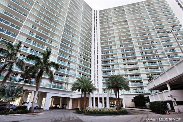 100 Bayview Dr #912, Sunny Isles Beach, FL 33160 (MLS #A10978581) :: KBiscayne Realty
