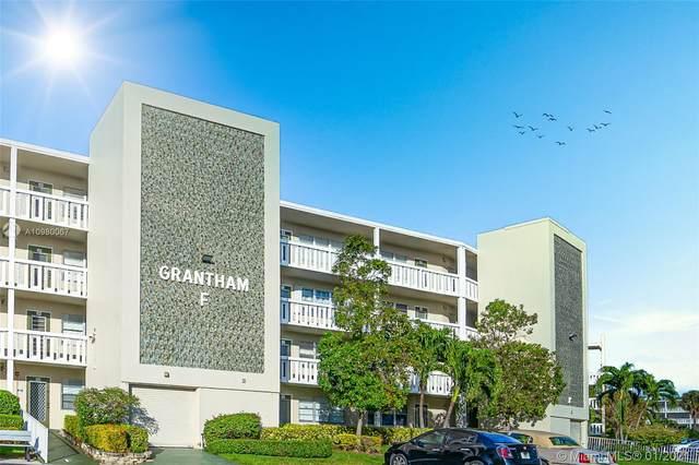 493 Grantham F, Deerfield Beach, FL 33442 (MLS #A10980067) :: Albert Garcia Team