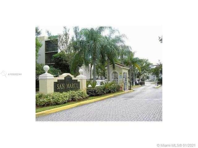 8870 Fontainebleau Blvd #308, Miami, FL 33172 (MLS #A10980244) :: Jo-Ann Forster Team