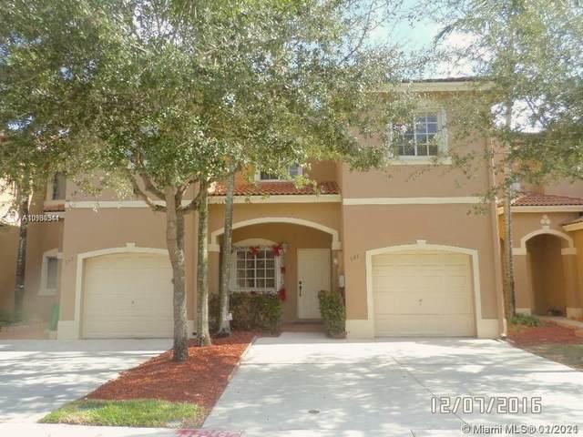941 SW 147th Ct #941, Miami, FL 33194 (MLS #A10980344) :: Miami Villa Group