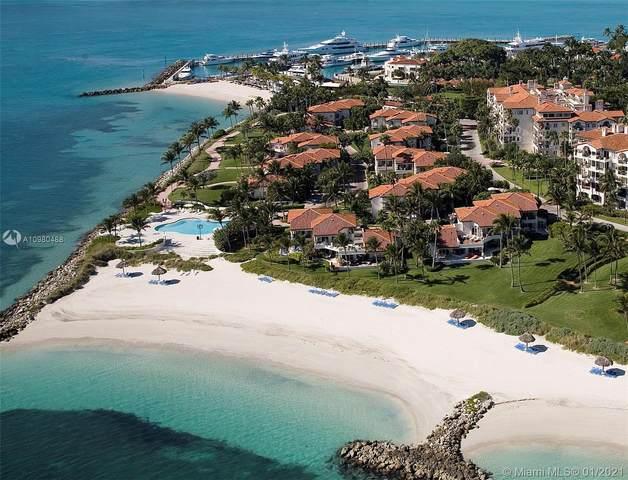 19113 Fisher Island Dr #19113, Miami Beach, FL 33109 (MLS #A10980488) :: Patty Accorto Team