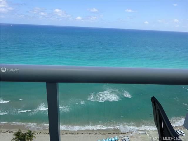 3140 S Ocean Dr #2405, Hallandale Beach, FL 33009 (MLS #A10980887) :: Team Citron
