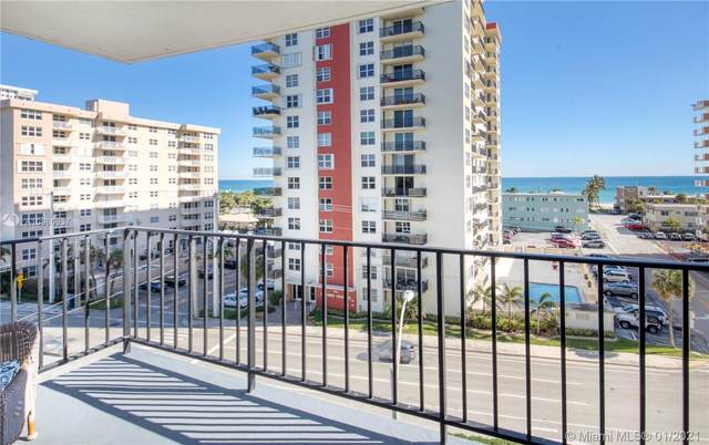 1400 S Ocean Dr #601, Hollywood, FL 33019 (MLS #A10980937) :: Search Broward Real Estate Team
