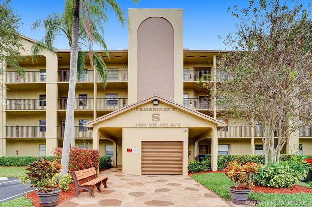 1351 SW 125th Ave 306S, Pembroke Pines, FL 33027 (MLS #A10981466) :: Carole Smith Real Estate Team