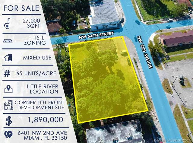 6401 NW 2nd Ave, Miami, FL 33150 (MLS #A10981754) :: The Teri Arbogast Team at Keller Williams Partners SW