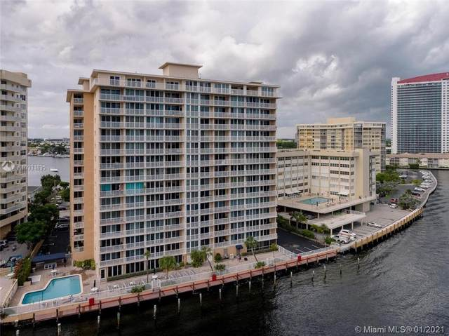 121 Golden Isles Dr #704, Hallandale Beach, FL 33009 (MLS #A10981895) :: Patty Accorto Team
